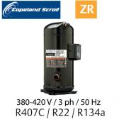 Compresseur COPELAND hermétique SCROLL ZR72 KCE-TFD-522