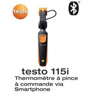 Testo 115 i - thermomètre à pince avec commande Smartphone