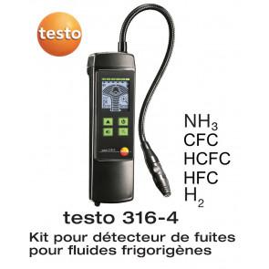 Detector de fugas Testo 316-4
