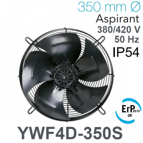Ventilateur axial YWF4D-350S de AREA