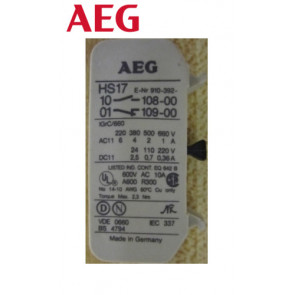 Contact auxiliaire AEG HS17