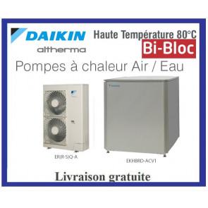 Pompes à chaleur DAIKIN ALTHERMA Bi-bloc Haute Température ERSQ016AY1 - Tri