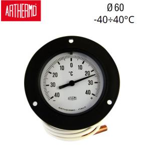 Thermomètre rond à capillaire ARTHERMO F87 R