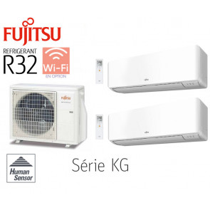 Fujitsu Bi-Split Mural AOY50MI-KB + 1 ASY20MI-KG + 1 ASY35MI-KG
