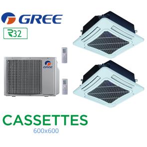 GREE Bi-split CASSETTES FM 24 + 2 FM CST 12 R32