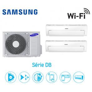 Samsung Série DB Bi-Split AJ050FCJ2EH + 1 AR07KSPDBWKN + 1 AR12KSPDBWKN
