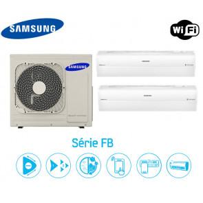 Samsung Série FB Bi-Split  AJ068FCJ3EH + 2 AR12HSSFBWKN