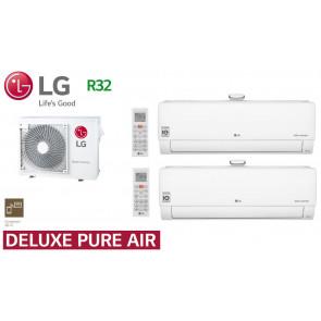 LG Bi-Split Deluxe Pure Air MU3R19.U21 + 2 AP09RT.NSJ