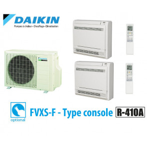 Daikin Bisplit inverter reversible 2MXS50H + 2 FVXS25F