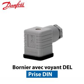 """Caixa de ligação para valvulas EVR/EVRH de marca """"Danfoss"""""""