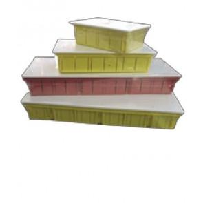 Caixa de pré-instalação para ar livre