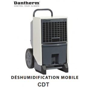 Déshumidificateur d'air mobile CDT60 de Dantherm