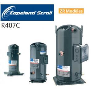 Compresseur Scroll Copeland - Modèles ZR- R407C - R134A - R22