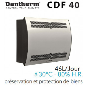 Déshumidificateur mural CDF 40 de DANTHERM