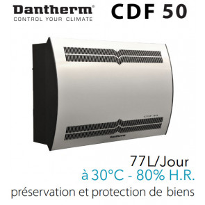 Déshumidificateur mural CDF 50 de DANTHERM