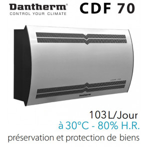 Déshumidificateur mural CDF 70 de DANTHERM