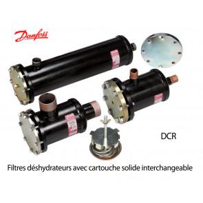Filtres déshydrateurs avec cartouche solide interchangeable DCRde Danfoss