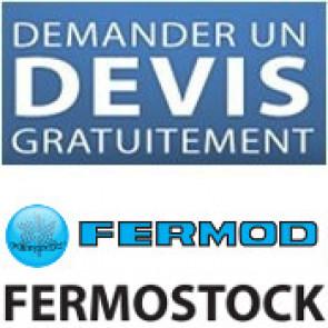 """Pedido de orçamento para prateleiras Fermostock"""" de marca """"Fermod""""."""