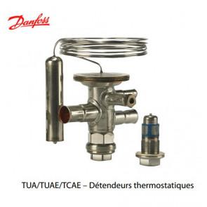 """Détendeurs thermostatiques """"Danfoss"""" TUA/TUAE/TCAE"""