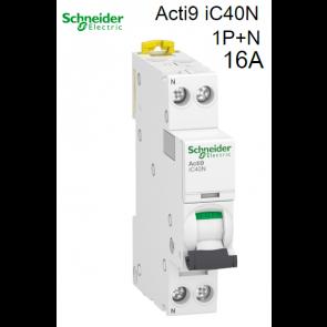 """Disjuntores modulares """"Schneider"""" D16"""