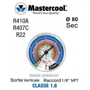 Manomètre de remplacement Mastercool BP - R22, R407C et R410A