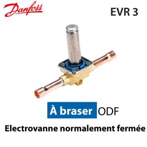 Vanne solénoïde sans bobine EVR 3 - 032F1204 - Danfoss