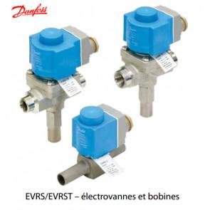 Electrovannes et bobines EVRS / EVRST pour eau et saumure de Danfoss