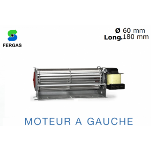Ventilateur Tangentiel TGO 60/1-180/20 de Fergas