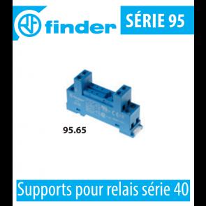 Support pour relais série 40 - 95.65.SMA de Finder