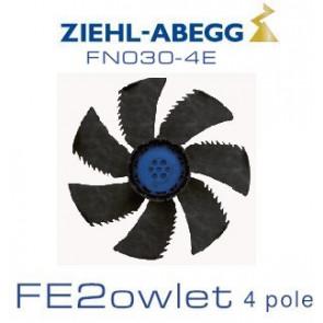 Ventilateur hélicoïde série FE2owlet - FN - Diamètre 300 - Ziehl-Abegg