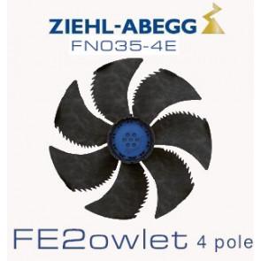 Ventilateur hélicoïde série FE2owlet - FN - Diamètre 350 - Ziehl-Abegg