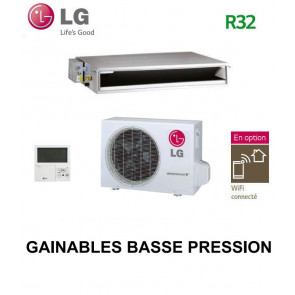LG GAINABLE Basse pression statique CL12R.N20 - UU12WR.UL0