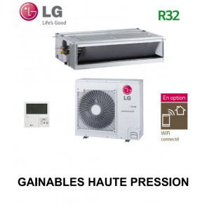 LG GAINABLE Haute pression statique CM24R.N10 - UU24WR.U40