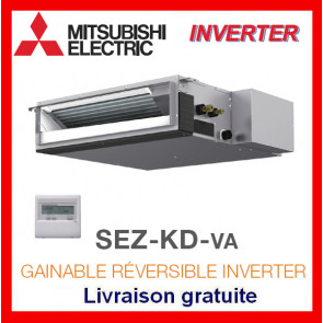 GAINABLE RÉVERSIBLE INVERTER Mitsubishi SEZ-KD50VA