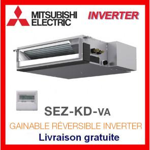 GAINABLE RÉVERSIBLE INVERTER Mitsubishi SEZ-KD60VA