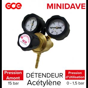 Détendeur Minidave Acétylène de GCE