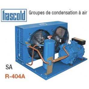 Groupes de condensation à air SA - Frascold - R404A - avec accessoires monté