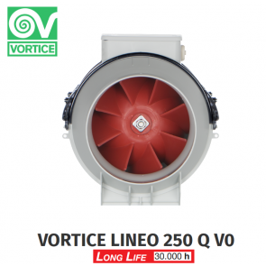 Centrífugas modelo fã VORTICE Lineo 250 VO