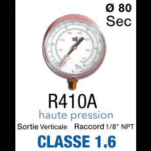 Manomètre HP pour R410A