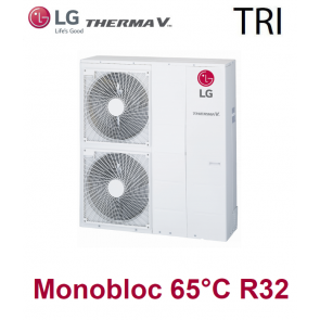 Pompe à Chaleur THERMA V Monobloc 65°C - HM143M.U33 - triphasé - R32