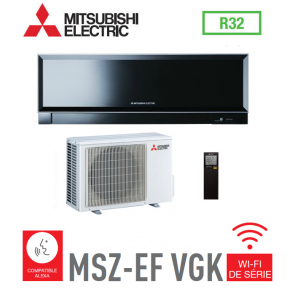 MURAL INVERTER DESIGN MITSUBISHI MSZ-EF25VGKB