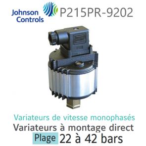 Variateur de vitesse monophasé à montage direct P215PR-9202 Johnson Controls