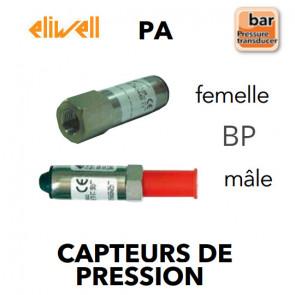 Transmetteur de pression BP - PA 007-F de Eliwell