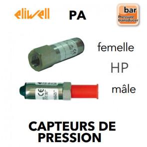 Transmetteur de pression HP - PA 030-M de Eliwell