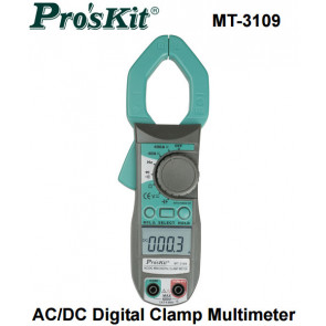 Pince multimètre AC/DC MT-3109