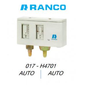 "Pressostato dupla automático ""Ranco"" 017H4701"