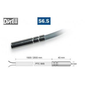 Sonde de température avec thermistance PTC - modèle S6.S de Dixell
