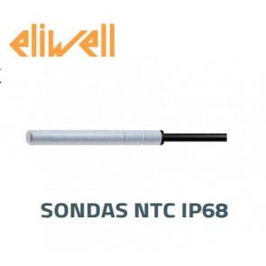 "Sonda NTC - IP68 ""Eliwell"" preta 1.5 m - SN8T6N1502"
