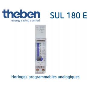 Horloge programmable analogique SUL 180 E de Theben