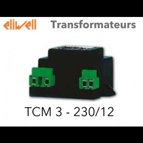 Transformateur TCM 3 - 230/12 de Eliwell